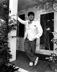 tennessee williams, key west florida home; for account of threats & mugging here, see http://www.people.com/people/archive/article/0,,20073565,00.html