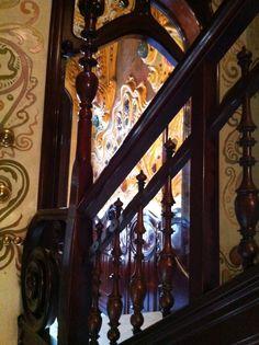 interior de Casa Colomines  Barcelona  el modernisme català