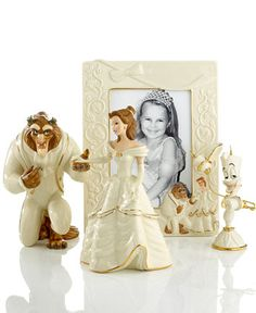 Lenox Collectible Disney Figurines, Beauty and the Beast Collection | macys.com