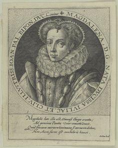 Bildnis der Pfalzgräfin Magdalena von Pfalz-Zweibrücken
