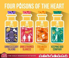 Four poisons of the heart...