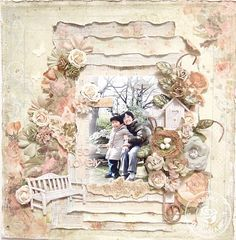 Happy smile♪: *Prima CHA Layout* Romantique Collection~So Lovely