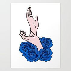 Twin Peaks, Laura Palmer hands