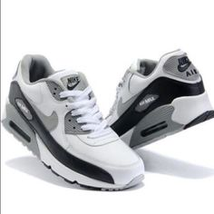 new product f7d2a 47ac7 Nike Shoes   Nike Air Max 90   Color  Gray White   Size