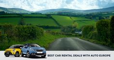 Auto Europe has been a trusted car rental provider for over 60 years. Search & Compare suppliers like Hertz, AVIS & Europcar to find the best rental car rates online. Road Trip Planner, Travel Planner, Travel Usa, Travel Tips, Solo Travel, Travel Ideas, Best Car Rental Deals, International Driving Permit, Europe Car