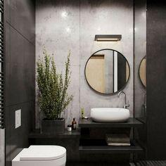 Modern Small Bathroom Design The Basic Components of Modern Bathroom Designs Modern Small Bathroom Design. Incorporating a modern bathroom design will give you a more … Modern Bathroom Design, Bathroom Interior Design, Interior Decorating, Modern Toilet Design, Decorating Ideas, Modern Sink, Toilet And Bathroom Design, Decorating Websites, Toilet Tiles Design