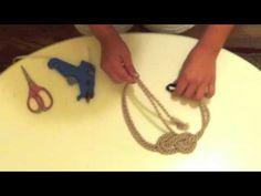 A DIY Nautical Knot headband youtube tutorial!..Easy as 1...2....3!