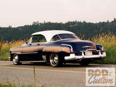 chevrolet bel air   1951 Chevrolet Bel Air Rear Left