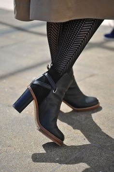 New York Fashion Week--Acne boots