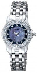 Citizen EP5630-71Y Eco-Drive Blue Mother of Pearl Dial Stainless Women's Watch