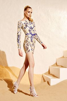 Zuhair Murad Resort collection 2015 Fashion Show Zuhair Murad 2015, High Fashion, Fashion Show, Fashion Design, Women's Fashion, Military Chic, Resort 2015, Textiles, Couture Dresses