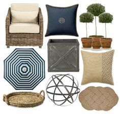 Bungalow Blue Interiors - Home - spring patio dreaming