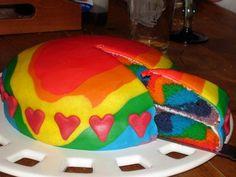 Cake «Rainbow»