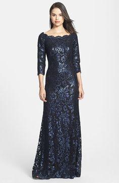 Tadashi Shoji Embellished Lace Gown | Nordstrom
