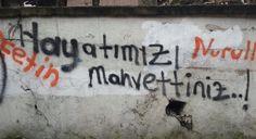 Hayatımızı mahvettiniz. #Yalnız #Adam #Aşk #Sözleri #Duvar #Yazıları