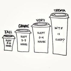 WTF is sleep? #coffee #starbucks