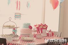 """Photo 1 of 28: Vintage carnival 3rd bday / Birthday """"Sophia's 3rd birthday party """" 