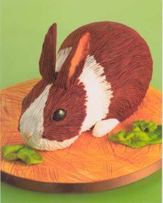 rabbit cake | Please click on the pictures to enlarge them.