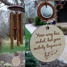 Memorial Wind Chime Provide Comfort Music Gift Custom Copper Gift After Death of Child Loss Of Mom Dad or Loved One In COPPER & 32 Best Memorial Wind Chimes images | Memorial wind chimes Memorial ...