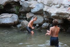 From the lava rock pools in Malibu to waterfall pools in the San Gabriel Mountains, Los Angeles has plenty of natural swim spots to help you beat the heat. Best Swimming, Swimming Holes, List Of Activities, Water Activities, La Things To Do, La With Kids, Eaton Canyon, San Gabriel Mountains, Wild Waters