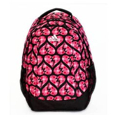Pink and Black Adidas Backpack Adidas Backpack 63b4f73c5c0fc