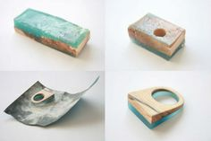Make a Statement With Wood and Resin Jewelry More