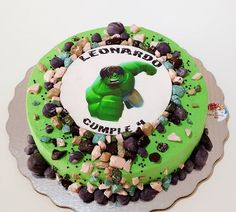 Foto Pastel, Birthday Cake, Desserts, Food, Pastries, Tailgate Desserts, Deserts, Birthday Cakes, Essen