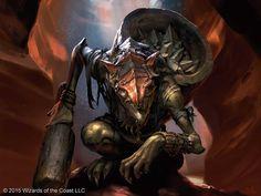 Zada, Hedron Grinder by ChrisRallis | Digital Art / Drawings & Paintings / Fantasy | Character Concept Orc Goblin | Magic: The Gathering / Battle for Zendikar: Dragon Whisperer