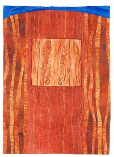 Emergence I: Karen Kamenetzky Art Quilt