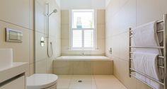 Bathroom wet room area