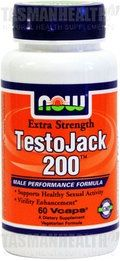 Now Foods Testojack is a synergy of libido enhancing herbs including Tongkat Ali, Tribulus, Maca and Horny Goat Weed. This men's health formula supports male reproductive health, neuromuscular functions, immune system, and testosterone levels. Testojack energises the body for total health, without producing insomnia or anxiety. visit us: http://www.tasmanhealth.co.nz/now-foods-testojack-200/ for more details!!
