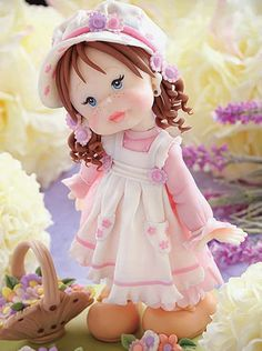 Muñeca - Porcelana Fría