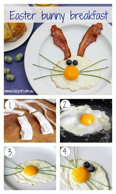 Create a FUN breakfast for the kids during Easter, Very easy to make & will surely put a smile on the little ones faces.