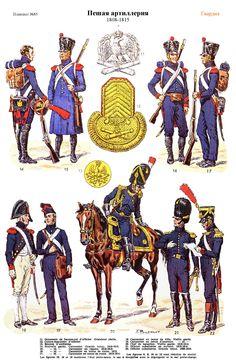 SOLDIERS- Rousselot: NAP- France: Artillerie a pied 1808-1815 (pl 85) 2