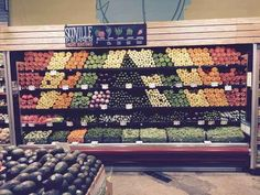 Some serious zen inducing images // When the person who worked in this grocery store made all our dreams come true.