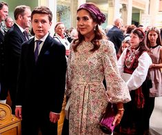 Crown Princess Mary, Crown Princess Victoria attend Princess Ingrid of Norway's confirmation – best photos - Photo 5 Princess Sofia Of Sweden, Princess Victoria Of Sweden, Crown Princess Victoria, Crown Princess Mary, Summer Dress Patterns, Summer Dresses, Prince Christian Of Denmark, Occasion Wear Dresses, Prince Frederik Of Denmark