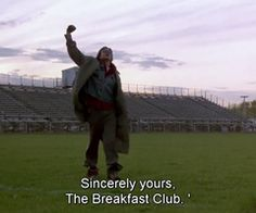 Quote from the Breakfast Club