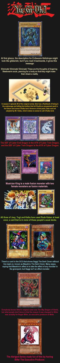 Yugioh Facts 6 // tags: funny pictures - funny photos - funny images - funny pics - funny quotes - #lol #humor #funnypictures