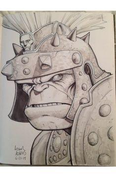 Planet Hulk by Arthur Adams