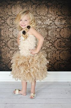 Original  Birthday Surprise Couture Girl  by MelissaJaneBoutique, $154.00