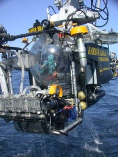 Tiburon, a research ROV at the Monterey Bay Aquarium Research Institute. It is capable of diving to 4000 meters.