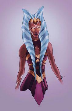 lets be honest, soka's basically the wonder woman of star wars Star Wars Rebels, Star Wars Clone Wars, Star Wars Art, Star Wars Canon, Han And Leia, Star Wars Concept Art, Star Wars Girls, Ahsoka Tano, Star War 3