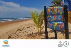 """Projeto """"Praia Limpa, Natureza Viva"""" instala mais lixeiras ecológicas na Península de Maraú – Maraú Notícias"""