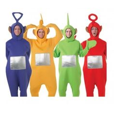 Official All 4 Teletubbies Group Costumes - £119.99 HALLOWEEN COSTUME NEXT YEAR