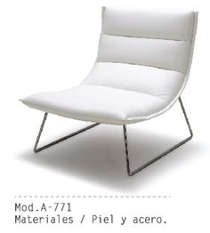 Mueble Interior Mod. A-771 #muebles #sillon #salas #minimalista