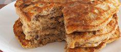 Pannenkoeken kunnen het begin van de dag aardig verzachten. Zeker deze veganistisch versie van polenta.