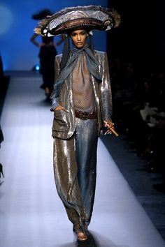 See the complete Jean Paul Gaultier Spring 2010 Couture collection.