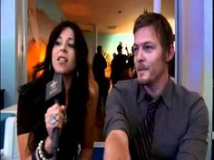Interview with Norman Reedus at peautiful people party