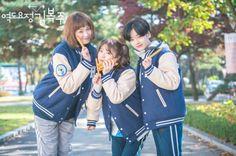 "First Impressions: ""Weightlifting Fairy Kim Bok Joo"" Weightlifting Fairy Kim Bok Joo Swag, Weightlifting Fairy Kim Bok Joo Wallpapers, Weighlifting Fairy Kim Bok Joo, Lee Joo Young, Kim Book, Swag Couples, Lee Sung Kyung, W Two Worlds, Joo Hyuk"