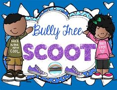 Game and Poster Set! Bully Free SCOOT provides a fun and motivating way to get your students thinking about bullying.  Its a great activity during the first few or last few weeks of school, as well as during Bully Prevention Month. The questions on these cards are also perfect to use for brain break discussions, as quick writes, or journal entries.